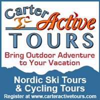 Carter Active Tours - Bring Outdoor Adventure to Your Vacation - Nordic Ski Tours & Cycling Tours