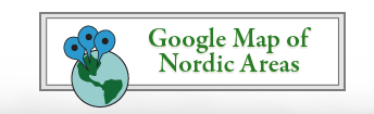 Google Map of Nordic Areas in Colorado - Centers & Guest Ranches